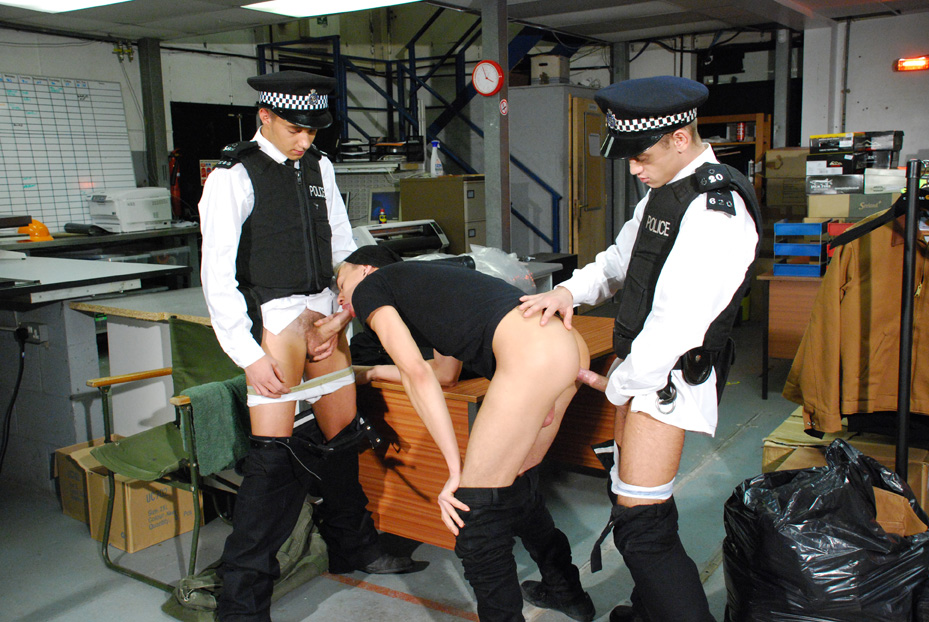police boy eurocreme will jamieson dylan parker seth