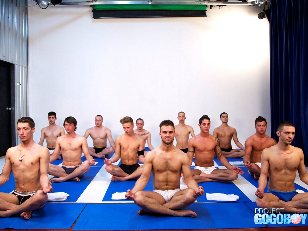 Project GoGo Boy Yoga Orgy