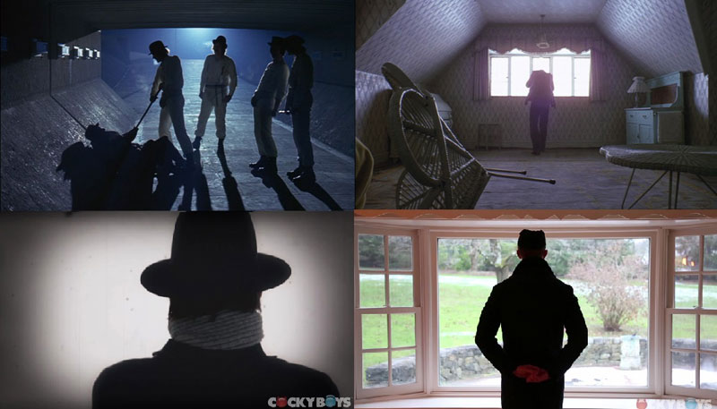 Silhouttes in Kubrick Films