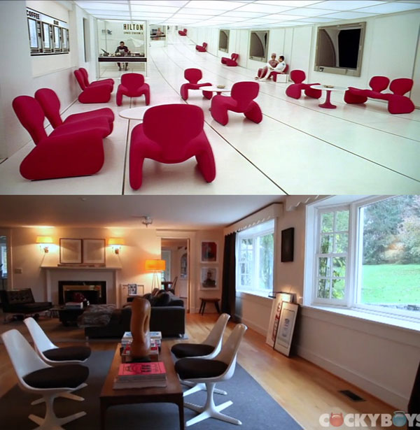 Furniture in Kubrick Films